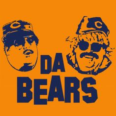 Da Bears Funny Retro Chicago Snl T Shirt by DonkeyTees - Teenormous.com