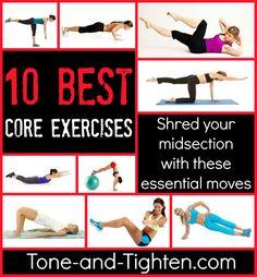 core exercises - Google-søk