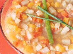 Sopa de Legumes (Microondas)