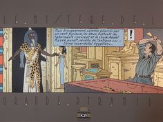 Jacobs, E.P. - Zeefdruk Archives Internationales - Le Mystère de La Grande Pyramide - (1987) - Catawiki