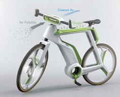 Bicicleta ecológica: purifica el aire que respiras
