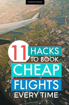 Discover how to find the cheapest flights possible when you're on a travel budget. These 11 flying hacks will help you book cheap flights to anywhere in the world (i.e to Europe, the U.S., etc) every time. #cheapflighthacks #traveltips #savemoney Book Cheap Flights, Find Cheap Flights, Cheap Flights To Europe, Book Cheap Hotels, Best Flights, Cheapest Flights, Cheapest Flight Tickets, Book Cheap Flight Tickets, Cheap Travel
