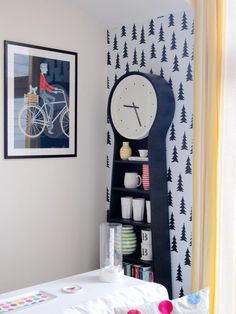 Removable wallpaper from Fine Little Day. I like photowall - co that sells wall murals and canvas art. Removable wallpaper.