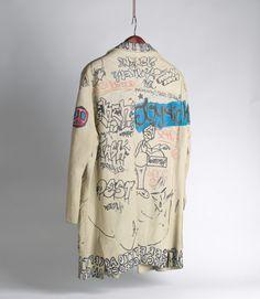 A jaqueta rabiscada por Basquiat agora vale uma fortuna - IdeaFixa
