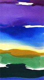 Gretchen Albrecht Acrylic on canvas 1972 Abstract Landscape, Abstract Art, Watercolour Painting, Watercolors, New Zealand Art, Nz Art, Art Of Beauty, American Artists, Figurative Art