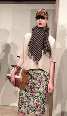 Florals + houndstooth + leopard = fall's most unexpected (but cutest) print combo (thanks, J.Crew!)