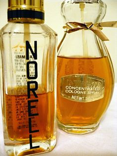 Vintage Revlon Intimate and Norell cologne spray - SOLD