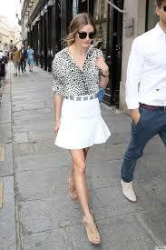 Afbeeldingsresultaat voor olivia palermo white skirt
