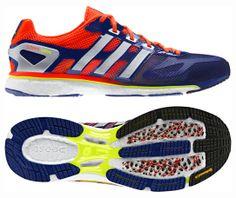 huge discount 9e395 d85c6 adidas adizero adios boost review Calzado Hombre, Correr, Revista,  Zapatillas, Tenis,