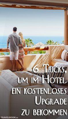 Ein Zimmer mit Meerblick, ein Bad mit Whirlpool, eine Terrasse zum Park – für Hotelgäste mit schmalem Geldbeutel muss das kein Traum bleiben. Vorausgesetzt, sie kommen in den Genuss eines Upgrades. Wie man das bekommt? Oft einfach so. Oder man tut ein bisschen was dafür. Sechs Wege, wie Sie Ihre Chancen auf ein Upgrade steigern können.