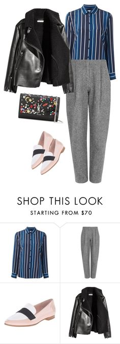 """""""ee"""" by katarina-style ❤ liked on Polyvore featuring Equipment, Acne Studios, Kate Spade and Yves Saint Laurent"""