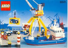 6541 Intercoastal Seaport - Brickipedia, the LEGO Wiki