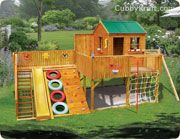 Turbo Tower Cubby Houses and Playground Equipment