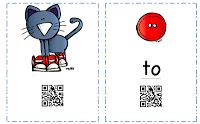 Pete the Cat has lost his groovy buttons!  Super cool literacy station activity with QR codes for beginning readers!  The codes will read the words to the children!  Hope you enjoy this activity!