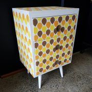 3 Drawer Chest, Chest Of Drawers, Retro Colours, Refurbished Furniture, Don't Forget, Legs, Facebook, Website, The Originals