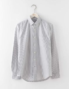 Boden Oxford Shirt Grey Stripe Men Boden, Grey Stripe Our shirt is the ultimate wear-with-anything piece. Need something for date night? Pair with jeans. Last-minute wedding invite? Throw on with suit trousers. Night out with the boys? Match with some cr http://www.MightGet.com/january-2017-13/boden-oxford-shirt-grey-stripe-men-boden-grey-stripe.asp