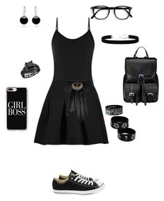 """""""gf pt2"""" by jjswagg on Polyvore featuring Converse, Casetify, T By Alexander Wang, Oscar de la Renta, 2028, Bling Jewelry and Aspinal of London"""