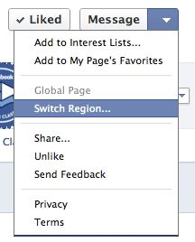 Facebook testing Region-specific version of Pages