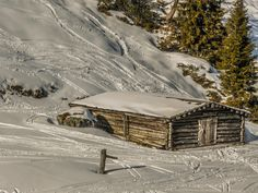 alpine chabin / chalet by ChristianThür Photography on Creative Market Holiday Photos, Skiing, Austria, Photography, Outdoor, Creative, Architecture, Ski, Outdoors