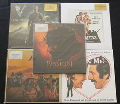 Online veilinghuis Catawiki: The Passion Of The Christ / Vikings / Il Vizietto / Honeysuckle Rose / Follow Me!: Great lot of 5 SOUNDTRACK albums (7LP's), all on coloured vinyl!