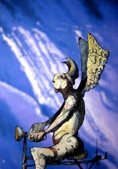 Sliten engel, av Tor R. Art, Angel, Art Background, Kunst, Art Education