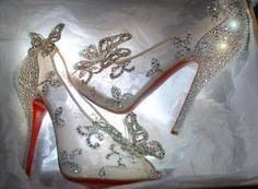 Christian LouboutinCinderella's shoes/Christian Louboutin×Disney