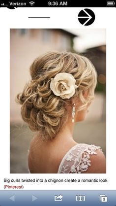 Country Wedding Hairstyle....I'M IN LOVE!! | Hairstyles