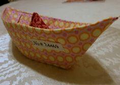 fun little fabric boat