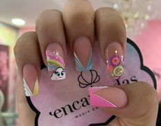 Nail Spa, Nail Manicure, Gel Nails, Best Acrylic Nails, Pretty Nail Art, Dream Nails, Glitter Nail Art, Nail Art Galleries, French Nails