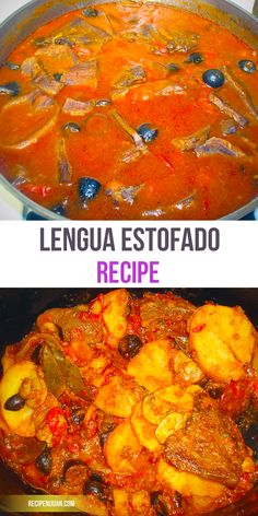 Callos recipe filipino version recipe filipino easy and lengua estofado recipe ox tongue in tomato sauce forumfinder Images