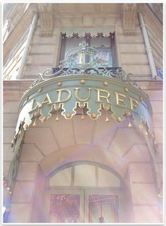 Laduree, Paris The oldest bakery specializing in macarons.