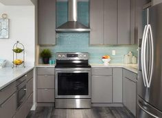 CliqStudios is the best value for high quality kitchen cabinets. Explore and compare the most popular cabinet door styles, stains and paint finishes. Kitchen Cabinet Door Styles, Shaker Kitchen Cabinets, Wooden Cabinets, Kitchen Cabinet Design, Farmhouse Cabinets, Grey Cabinets, Purple Kitchen, Kitchen Colors, Layout Design