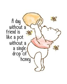 Classic Winnie The Pooh Nursery Print -You can find Friendship day quotes and more on our website.Classic Winnie The Pooh Nursery Print - Winnie The Pooh Nursery, Winnie The Pooh Quotes, Winnie The Pooh Friends, Piglet Quotes, Winnie The Pooh Drawing, Winnie The Pooh Classic, Quotes Quotes, Winnie The Pooh Pictures, Swag Quotes