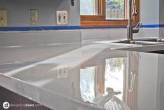 My Shiny Glossy Painted Laminate Countertops Use