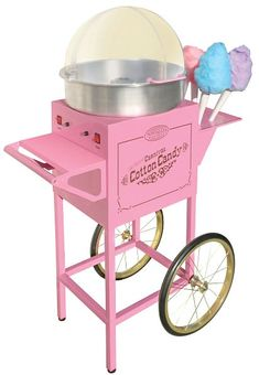 Nostalgia Vintage Pink Cotton Candy Machine with 6 Cotton Candy Cones CCM 600 The Home Depot : Vintage Collection Old Fashioned Cotton Candy Cart, Pink Cotton Candy Cone, Pink Cotton Candy, Specialty Appliances, Small Appliances, Kitchen Appliances, Cooking Appliances, Cooking Gadgets, Vintage Cotton, Vintage Pink