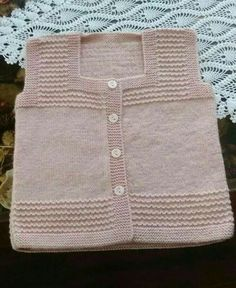 Baby Knitting Patterns, Knitting For Kids, Easy Knitting, Knitting Designs, Crochet Baby Jacket, Knitted Baby Cardigan, Knit Baby Sweaters, Girls Sweaters, Baby Boy Jackets