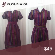 """Vintage Gem 70's 80's 3 Pieces Stripped Set Vintage Gem 3 Pieces Stripped Set / short-buttons up on the side/Skirt's zipper on the back ☑️PERFECT CONDITION  Measurements:  TOP Bust 38"""" - 39"""" Waist 36"""" ( tuck in skirt ) SKIRT Waist 26"""" Hips Open ( up to 40"""" )  Length 26.5"""" SHORTS Waist 26"""" Hips OPEN ( up to 40"""" )  Length 16.5"""" Price $45.00 3pcs / set Tag's Size 7/8 ➡Maker ️West Coast Connection Vintage Other"""