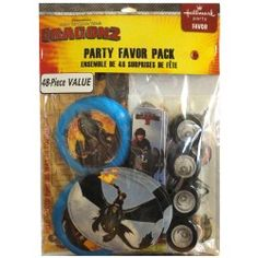 How to Train Your Dragon 2 Favor Packs, Favors Dragon Birthday, Dragon Party, Dragon 2, Discount Party Supplies, How Train Your Dragon, Party Favors, Packing, Crafty, Httyd