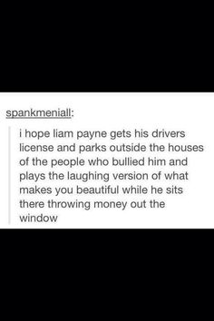YESSSSSSSS. I hope he does too! bullying needs to stop. Plain and simple. Why would you ever want to purposefully make someone feel bad? you dont know them so quit judgeing. Some people over come their bullying and grow up to be great like Liam but for some its too much. Be the voice. Stop bullying. Okay im done ranting about bullying:)