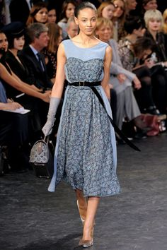 Marc Jacobs for Louis Vuitton (winter 10-11) love this dress and shoes to go with it )