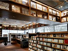 """DAIKANYAMA TSUTAYA BOOKS, the TSUTAYA for grownups, is tied to the theme of """"A Library in the Woods."""""""