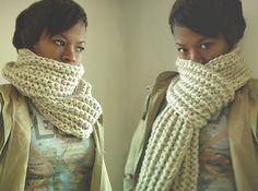 Crochet SoHo Scarf (chunky) pattern by Asia Spence