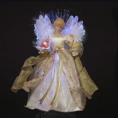 Are you looking for some lighted Christmas angel tree toppers ideas? A lighted…