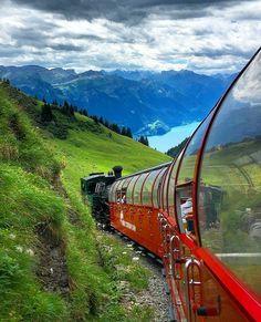 """Brienzer, Rothorn, Switzerland    (@thebeautifulswitzerland) on Instagram: """"Iseltwald, Bern ---------------------------------------------------------------------------- Photo…"""""""