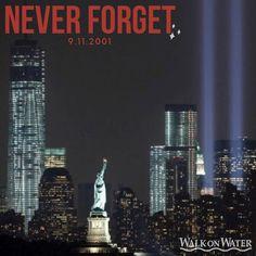 @walkonwaterfl posted to Instagram: We will never forget...     #9112001 #NewYork #newyorkcity #9llMemorial  #newyorker #neverforget911 #NeverForget #WalkOnWaterBoutique We Will Never Forget, Walk On Water, Days Of The Year, Willis Tower, New York, Travel, Instagram, Voyage, New York City