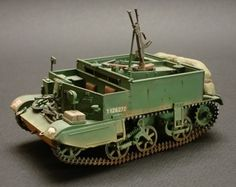 Universal Carrier  The Universal Carrier, also known as the Bren Gun Carrier from the light machine gun armament,[3] is a common name describing a family of light armoured tracked vehicles bu...