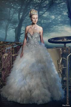 dar sara bridal 2014 vienna swarovski crystal wedding dress