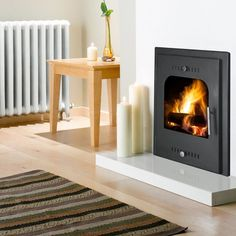 fire surrounds for inset log burners - Google Search