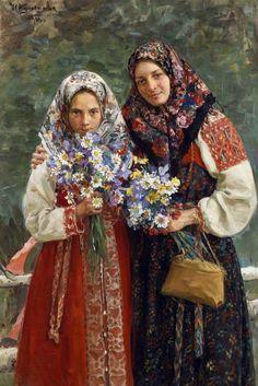 Луговые цветы / Куликов Иван Семёнович - Kulikov Ivan Semenovich