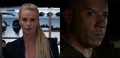 """Trailer """"Velozes e Furiosos 8"""" tem Charlize terrorista e traição de Diesel"""